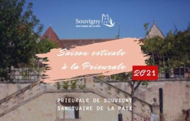 Saison estivale à la Prieurale de Souvigny