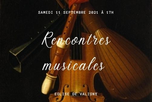 RENCONTRES MUSICALES DE VALIGNY
