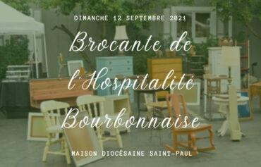 Brocante de l'hospitalité Bourbonnaise
